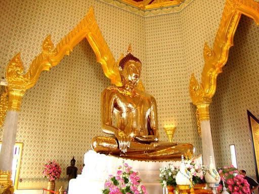 Tour du lịch Thái Lan - Chùa Phật Vàng