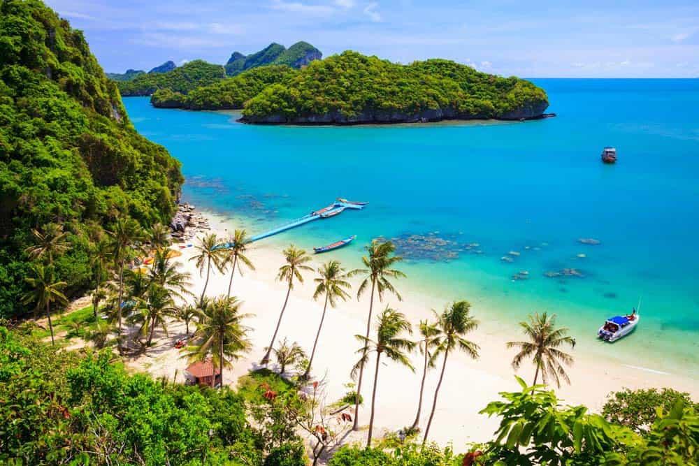 Du lịch Thái Lan - Bãi biển Koh Samui