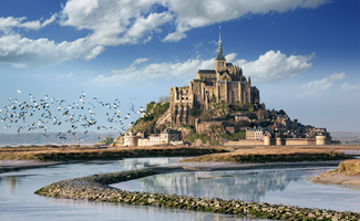 Đảo Mont Saint Michel